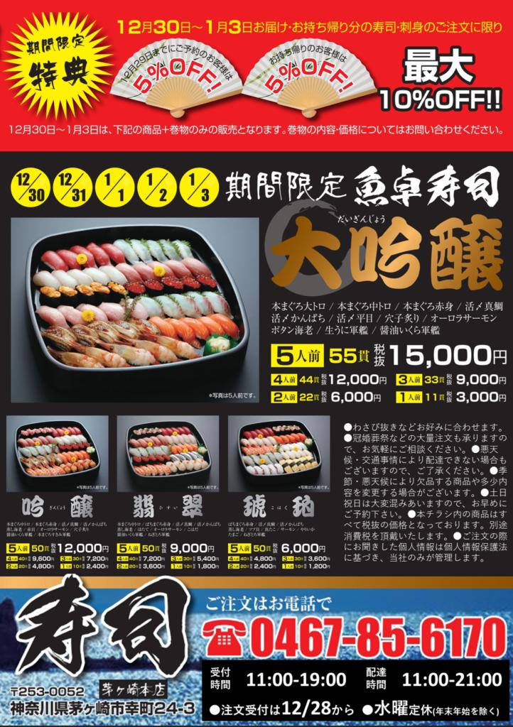魚卓正月寿司