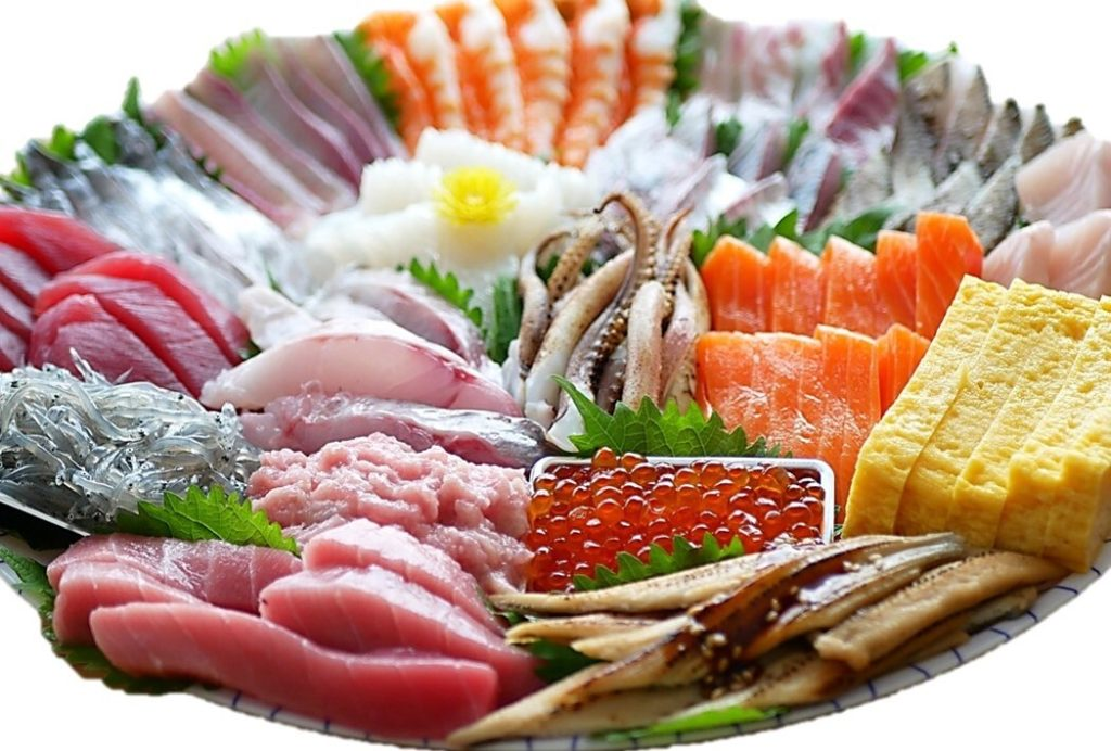魚卓 手巻き寿司