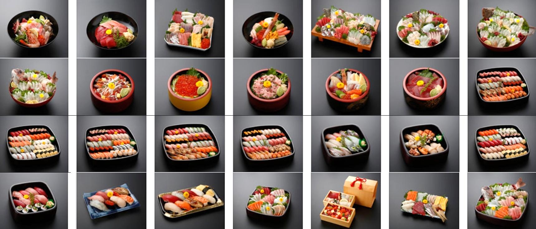 魚卓の宅配寿司